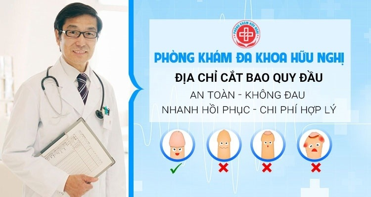 Địa chỉ cắt bao quy đầu an toàn chất lượng tại Đà Nẵng