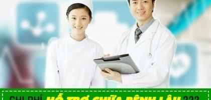 chi phí hỗ trợ chữa bệnh lậu