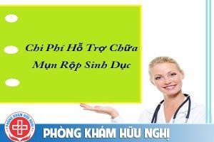chi phí hỗ trợ chữa mụn rộp sinh dục