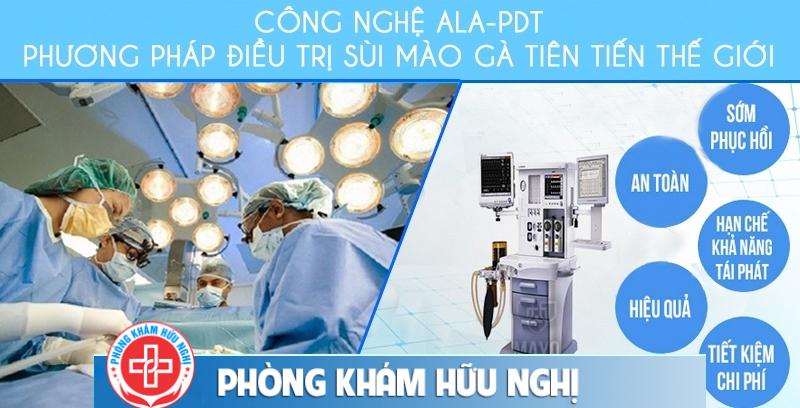 bệnh viện hỗ trợ chữa sùi mào gà