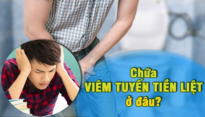 Địa chỉ hỗ trợ chữa viêm tuyến tiền liệt hiệu quả tại Đà Nẵng