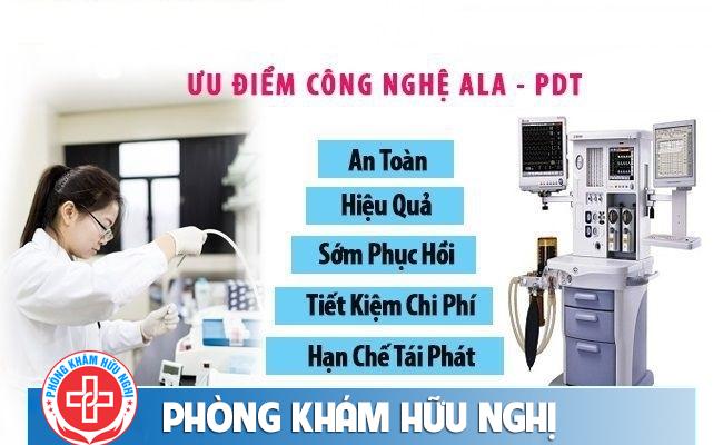 phòng khám hỗ trợ chữa sùi mào gà