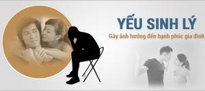 hỗ trợ chữa yếu sinh lý