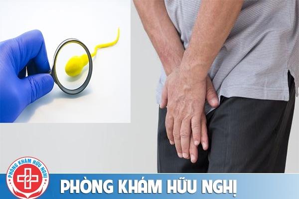 Tinh trùng màu vàng và các biến chứng nguy hiểm