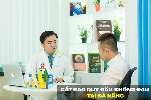 Thủ thuật cắt bao quy đầu không đau tại Đa Khoa Hữu Nghị